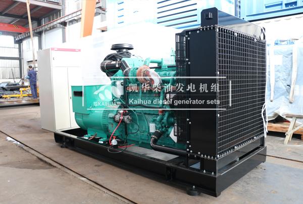 东营金属500KW康明斯柴油发电机组今日成功出厂 发货现场 第2张