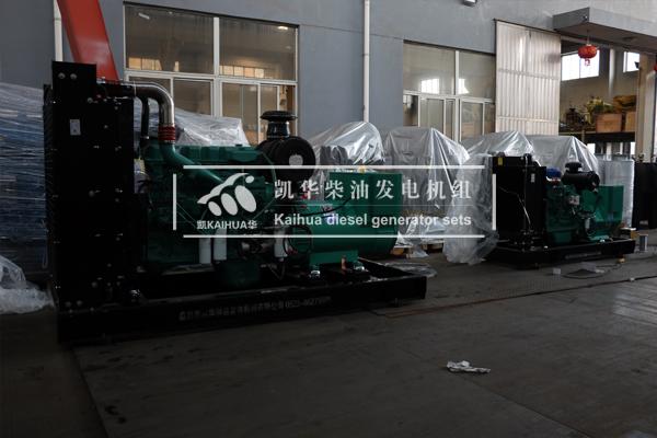 祝贺内蒙古能源2台康明斯发电机组成功出厂 发货现场 第2张