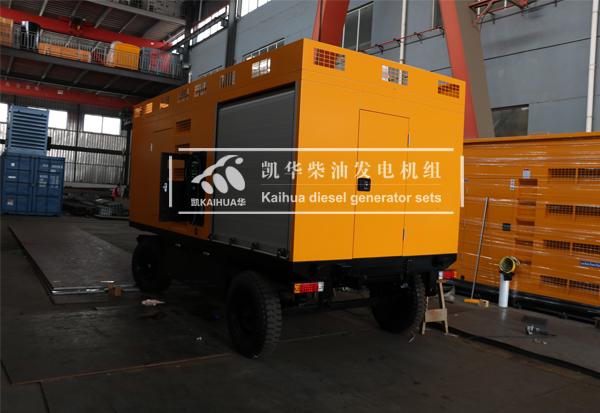 祝贺浙江路政200KW移动静音发电机组成功出厂 发货现场 第2张