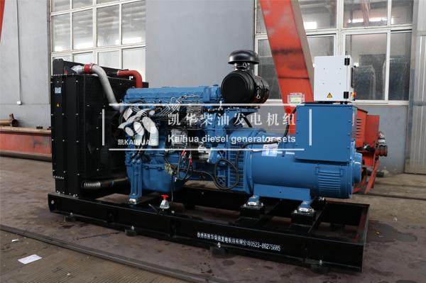 祝贺南昌工程300KW玉柴发电机组成功出厂 发货现场