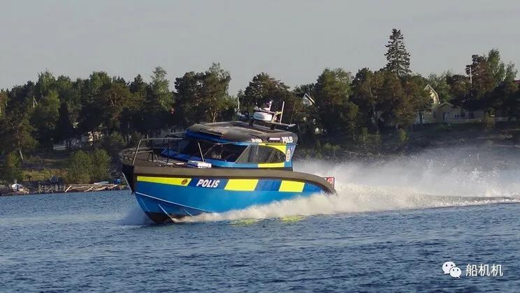 沃尔沃Penta为斯德哥尔摩新巡逻艇提供动力推进系统 行业动态 第1张
