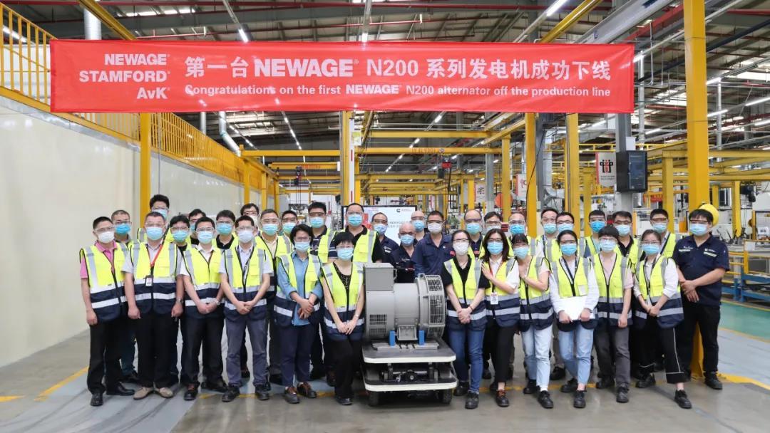 康明斯第一台NEWAGE N200系列发电机成功发布 行业动态 第1张
