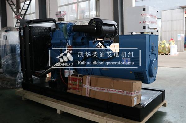祝贺南通人防200KW玉柴发电机组成功出厂 发货现场