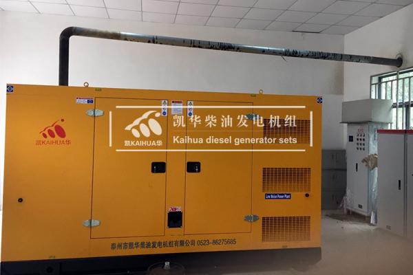 重庆新能源300KW静音发电机组成功交付