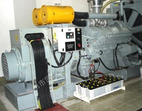 昆山外企800Kw进口三菱发电机组交付使用 国内案例