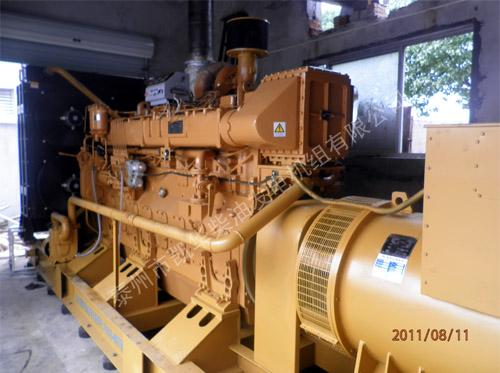 苏州外企600KW济柴发电机组成功安装就位 国内案例 第1张