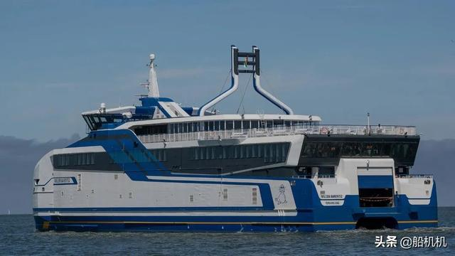 MTU首台移动式燃气动力客运渡轮在荷兰试航成功 行业动态 第2张