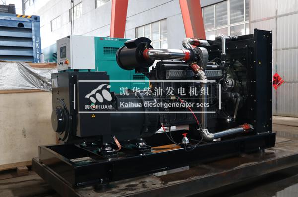 祝贺山东石化400KW上柴发电机组成功出厂