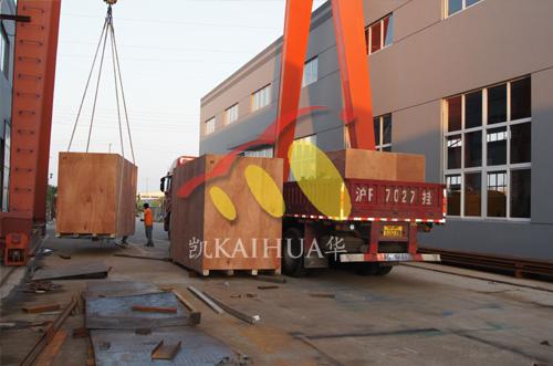 出口澳大利亚矿山的3台MTU发电机组成功出厂 发货现场 第2张
