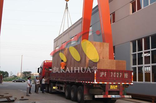 出口澳大利亚矿山的3台MTU发电机组成功出厂 发货现场 第3张