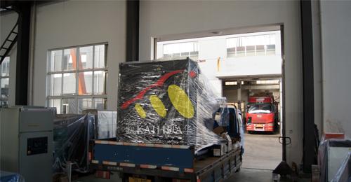 常州某宾馆1台400KW上柴发电机组今日成功出厂 发货现场 第2张