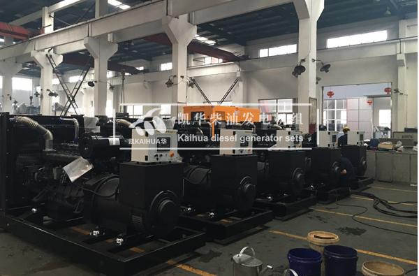 安哥拉铁路公司的五台300KW上柴发电机组成功出厂 发货现场 第2张