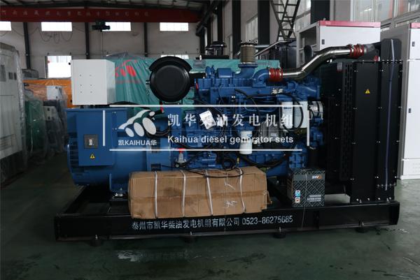 祝贺云南某药业集团200KW玉柴发电机组成功出厂 发货现场