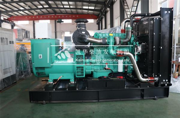 福建省邮电学校一台400KW康明斯发电机组成功出厂
