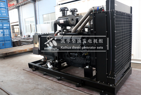 陕西某牧业500KW上柴发电机组成功出厂 发货现场