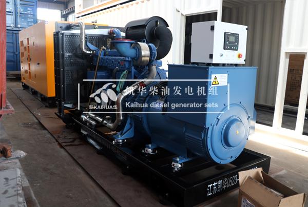 祝贺宁夏某电力公司两台玉柴发电机组成功出厂 发货现场 第2张