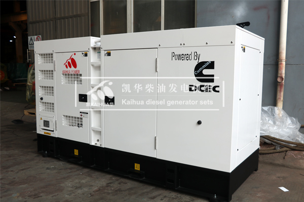 祝贺新加坡客户一台200KW静音发电机组成功出厂 发货现场
