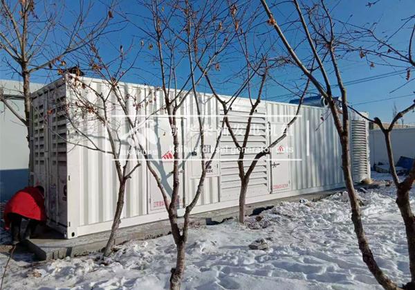 新疆某企业1500KW康明斯发电机组成功交付