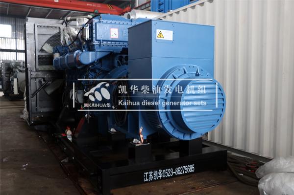 祝贺宁夏某煤矿2000KW玉柴发电机组成功出厂