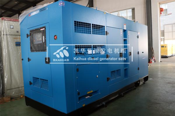 祝贺广西某交通部门300KW静音发电机组成功出厂
